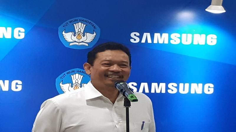 Sekretaris Jenderal Kementerian Pendidikan dan Kebudayaan RI Didik Suhardi. JIBI/Bisnis - Ria Theresia Situmorang