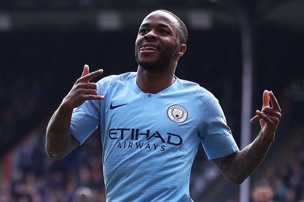 Pemain Manchester City, Raheem Sterling - Premier League