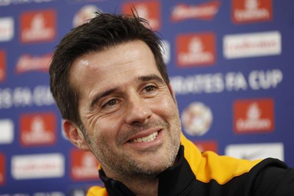 Pelatih Everton Marco Silva - Reuters