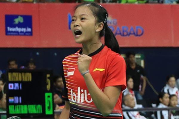 Pebulu tangkis putri Fitriani - BadmintonIndonesia.org