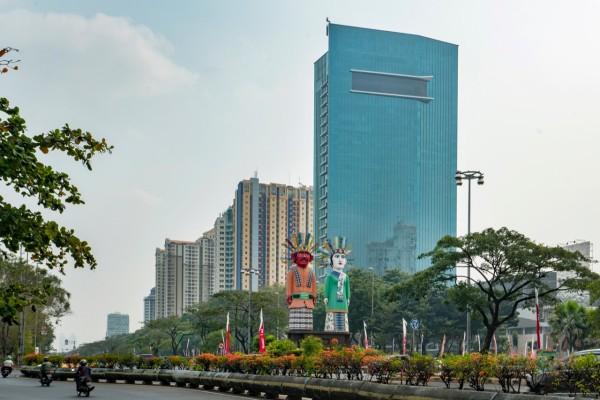 Gedung perkantoran Citra Towers di Kemayoran, Jakarta Pusat. - Bisnis