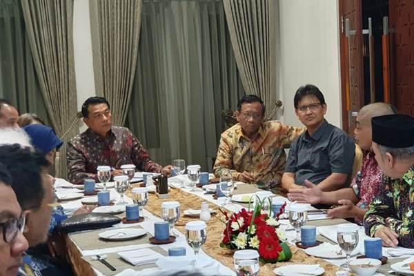 Pertemuan Tokoh Gerakan Suluh Kebangsaan bersama Kepala Staf Kepresidenan Moeldoko - Istimewa