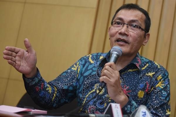 Wakil Ketua KPK Saut Situmorang. - Antara/Hafidz Mubarak A