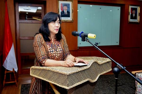 Direktur Jenderal IKM dan Aneka Kemenperin Gati Wibawaningsih. - Bisnis.com