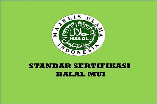 Standar sertifikasi halal MUI - Istimewa