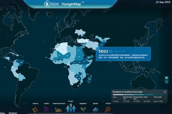 Tampilan Hunger Map - Alibaba