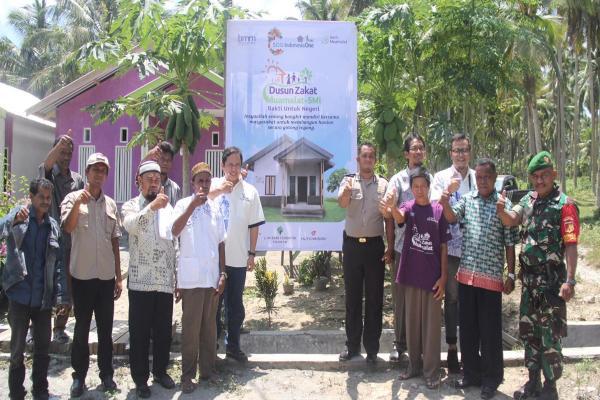 Peresmian pembangunan 320 rumah harapan BMM di Donggala, Sulawesi Tengah. - Istimewa
