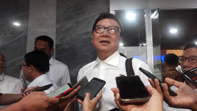 Menteri Dalam Negeri Tjahjo Kumolo - Bisnis/Jaffry Prabu Prakoso