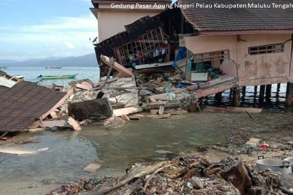 Dampak Gempa Maluku Kamis (26/9/2019) - BNPB