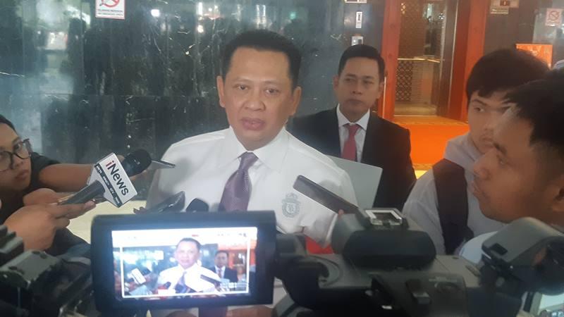 Ketua Dewan Perwakilan Rakyat (DPR) Bambang Soesatyo - Bisnis/Jaffry Prabu Prakoso