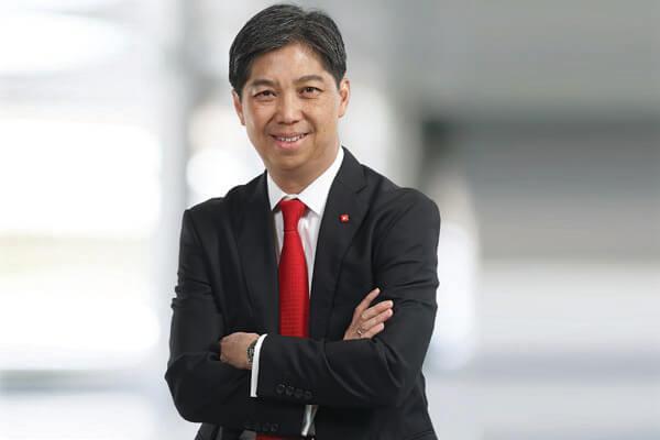 Paulus Sutisna, Presiden Direktur PT Bank DBS Indonesia