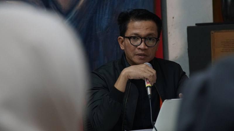 Direktur Eksekutif Amnesty International Indonesia Usman Hamid. - Twitter