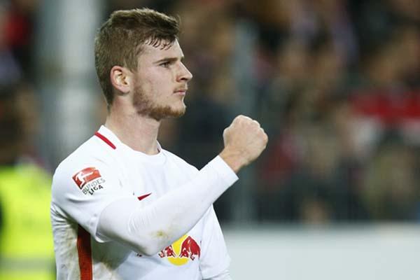 Ujung tombak RB Leipzig Timo Werner - Reuters/Ralph Orlowski