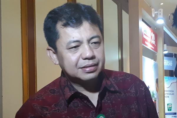 Direktur Pengelolaan Sampah KLHK Novrizal Tahar. - Bisnis/Oktaviano D.B. Hana