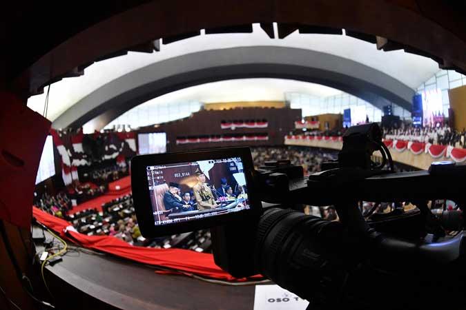 Suasana Sidang Bersama DPD/MPR RI 2019 Antara - Sigid Kurniawan