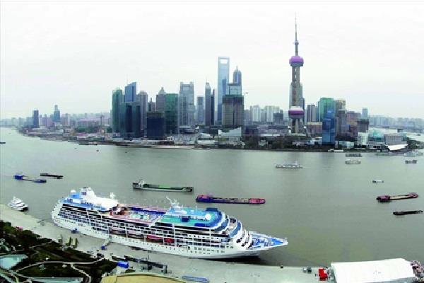 Terminal kapal pesiar di Pelabuhan Shanghai. - globaltimes.cn