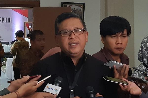 Sekretaris Jenderal DPP Partai Demokrasi Indonesia Perjuangan (PDIP) Hasto Kristiyanto. - Bisnis.com/Samdysara Saragih