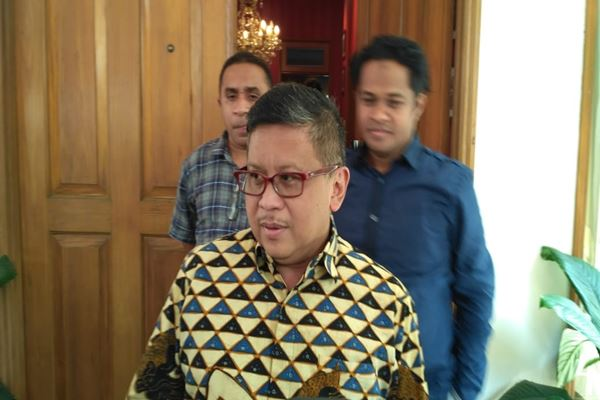 Sekjen PDIP Hasto Kristiyanto/JIBI/BISNIS - Muhammad Ridwan