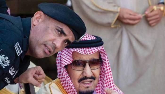 Pengawal Raja Salman Mayor Jenderal Abdul Aziz al-Faghm (kiri) dilaporkan tewas setelah ditembak oleh tewannya. - Instagiz.com