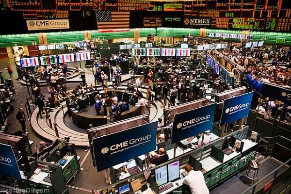 Dokumen foto kegiatan bursa COMEX New York Mercantile Exchange, Amerika Serikat (AS). - globalresearch.ca