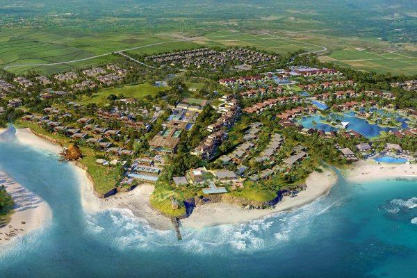 Proyek Ciputra Beach Resort yang berlokasi di Tabanan, di pinggir pantai Yeh Gangga. - Bisnis