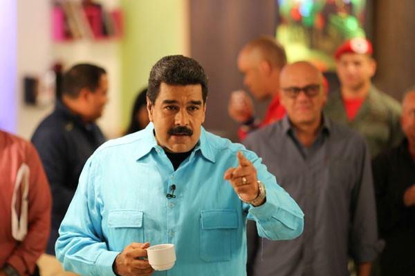Presiden Venezuela Nicolas Maduro - Reuters