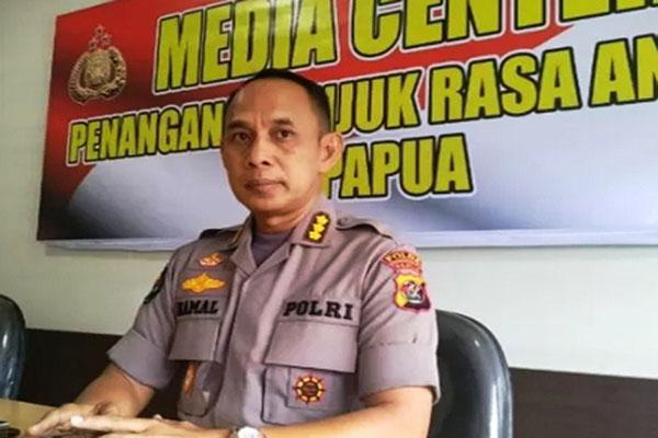 Kabid Humas Polda Papua Kombes Ahmad Kamal - Antara/Evarukdijati