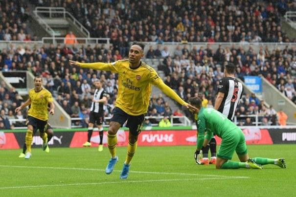 Striker Arsenal, Piere Emerick Aubameyang - Twitter
