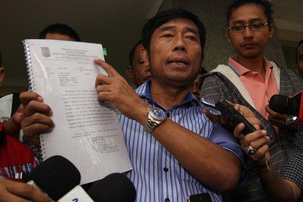 Wakil Ketua DPRD DKI Jakarta Abraham Lunggana alias Haji Lulung - Antara/Reno Esnir