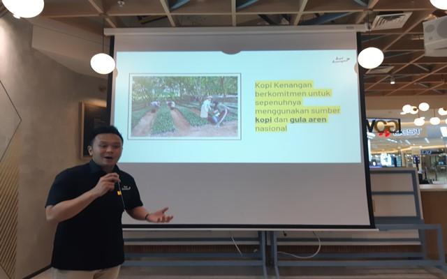 CEO Kopi kenangan Edward Tirtanata - Bisnis/Syaiful M