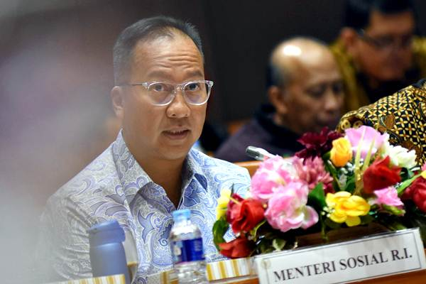 Menteri Sosial Agus Gumiwang - Antara/Indrianto Eko Suwarso