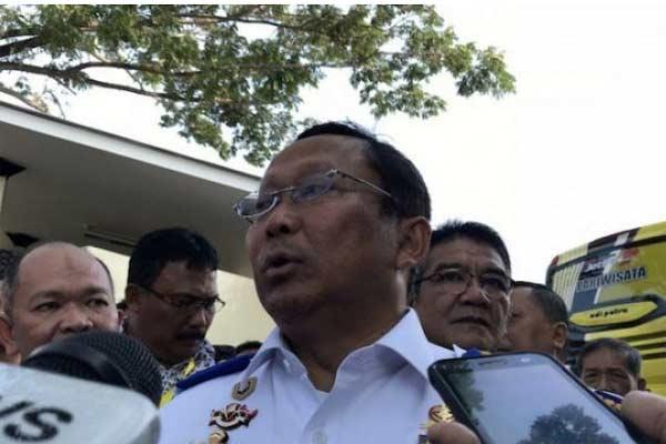 Direktur Jenderal Perhubungan Darat Kementerian Perhubungan Budi Setiyadi.  - Foto ANTARA