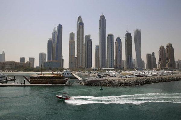 Dubai Marina di Uni Emirat Arab. - Reuters/Ahmed Jadallah