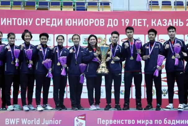 Tim bulu tangkis Indonesia juara World Junior Championships 2019 - Badminton Indonesia