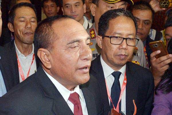 Gubernur Sumatera Utara, Edy Rahmayadi - Antara