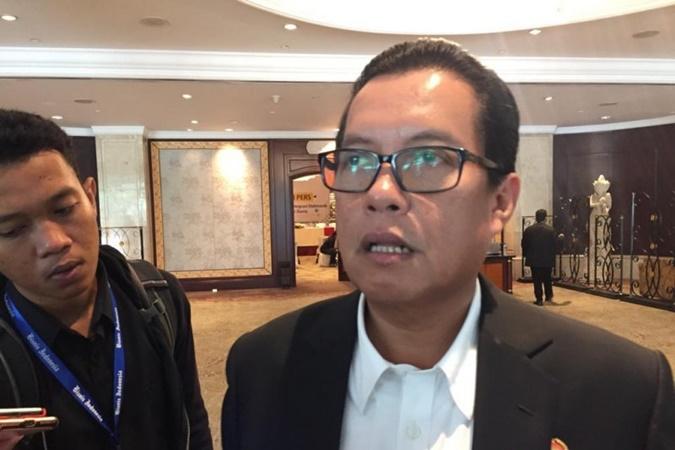 Sekretaris Jenderal Kementerian ATR/BPN Himawan Arief Sugoto. - Antara