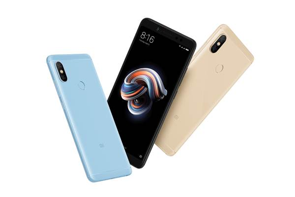 Tiga model warna Xiaomi Redmi Note 5 - Xiaomi