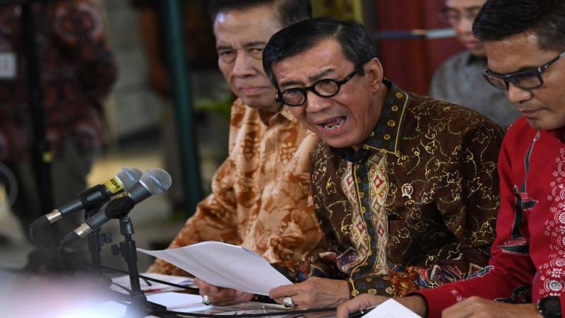 Politisi PDIP Yasonna Laoly - Antara