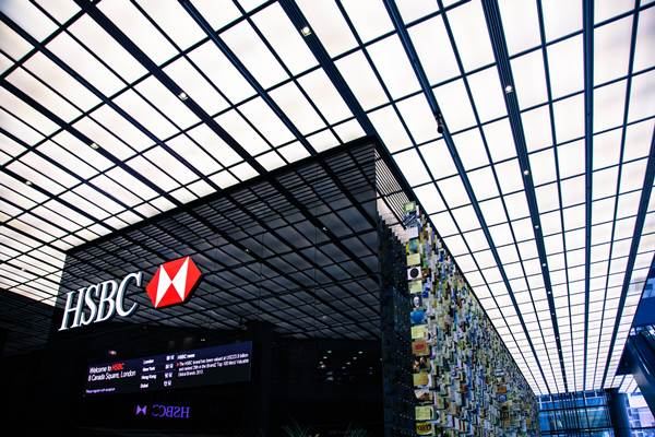 Kantor pusat HSBC. - hsbc.com