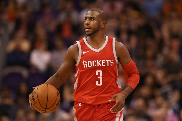 Pebasket Houston Rockets, Chris Paul - Dream shake