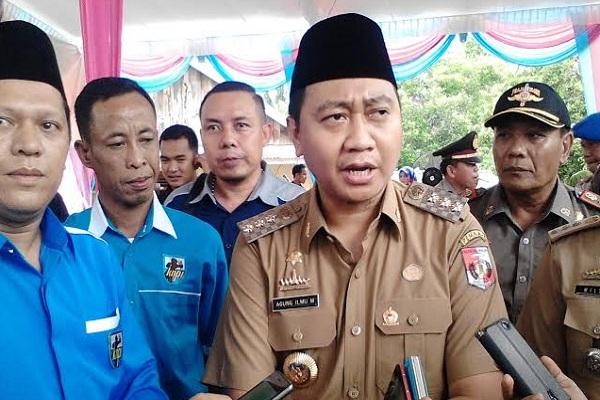 Bupati Lampung Utara Agung Ilmu Mangkunegara - Istimewa