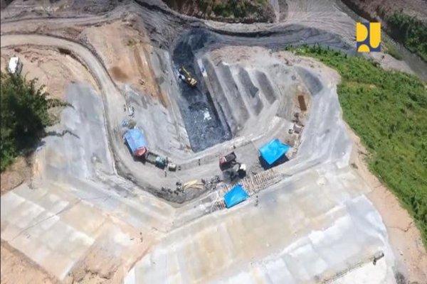 Pembangunan Bendungan Ladongi di Sultra