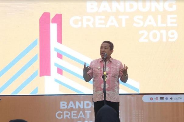 Wakil Wali Kota Bandung, Yana Mulyana - Bisnis/Dea Andriyawan
