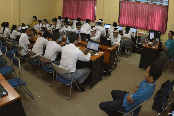 Pelajar SMK. - Antara