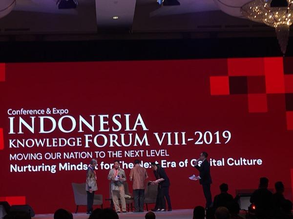 Indonesia Knowledge Forum (IKF) VIII 2019 - Bisnis.com/Akbar Evandio