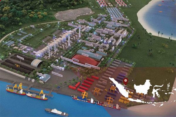 Kawasan Ekonomi Khusus (KEK) Galang Batang berada di Pulau Bintan Kepulauan Riau, yang merupakan sentra choke point Selat Malaka, berdekatan dengan Batam Free Trade Zone dan Selat Philip. /Foto http:/ - kek.go.id