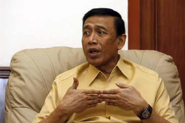 Menko Polhukam Wiranto - Reuters/Beawiharta