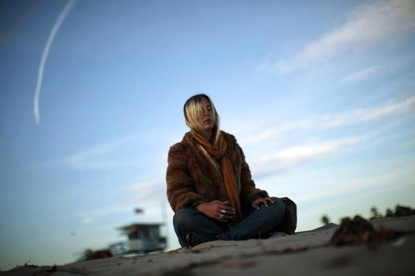 Ilustrasi meditasi - Reuters/Lucy Nicholson