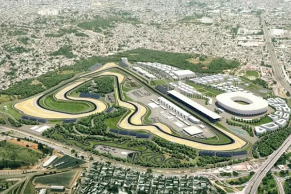 Sirkuit Rio Motorpark di Rio de Janeiro, Brasil. - Twitter MotoGP