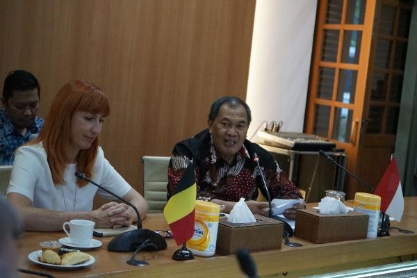 Kerja sama Pemkot Bandung dan Belgia - Bisnis/Dea Andriyawan
